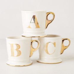 Anthropologie Gold Monogram Mug.jpeg